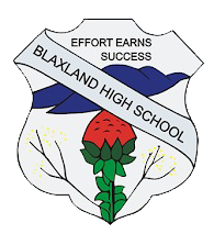 Blaxland High School logo